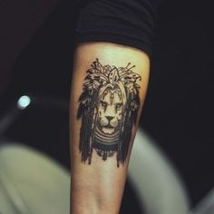lion tattoo designs (48)