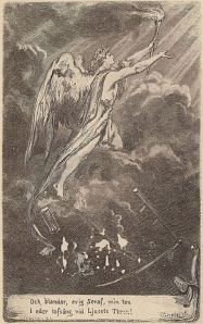 Johan Olof Wallin - Dödens Engel, edición ilustrada por Carl Gustaf Hellqvist (1917)