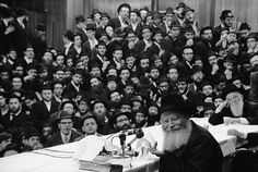 The Rebbe and his Chassidim