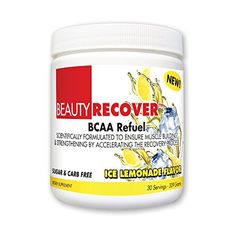 BeautyFit BeautyRecover, BCCA Refuel For Women, Ice Lemonade, 314 grams (30 Servings) *** To view further for this item, visit the image link.