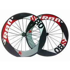 Carbon road bike wheels SRANI S80 ERR10