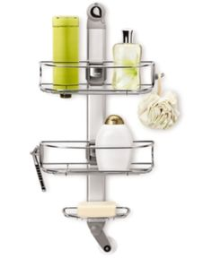 I'm learning all about simplehuman Adjustable Shower Caddy at @Influenster!