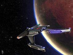 ArtStation - FASA Star Trek Baker Class Box Art, Rick Knox