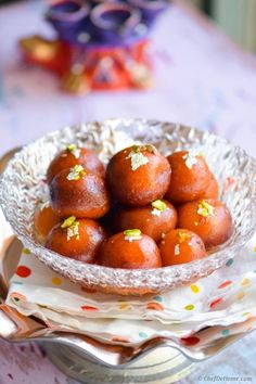 On special occasion of Holi, sharing with you some sweetness straight from Indian side of my Kitchen. :) Ready in no time, these fragrant rose syrup soaked milk powder nuggets, just melt in mouth!S...