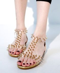 22. Cool Flattie | 22 Gorgeous Shoes That Attract Your Eyes - From Pinterest
