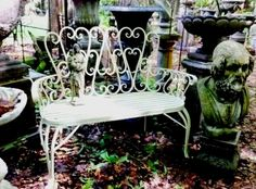 Garden bench at Walden Woods, Bussum