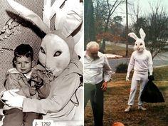 ウサギってそうじゃないだろ!イースターバニーの被り物が怖すぎて悪夢パターン : カラパイア