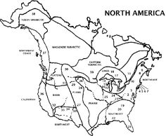 Native American regions and clothing