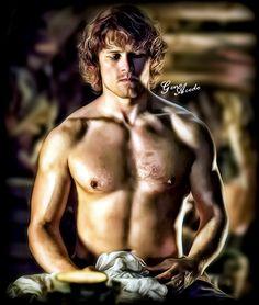Sam Heughan #Outlander #LoveForSam #RespectForSam