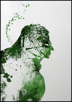 Super Heroes: Painted - Hulk by Arian Noveir