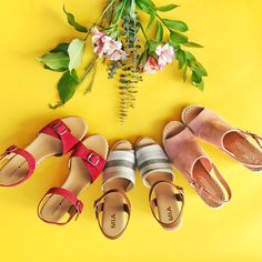 Stitch Fix stylists are ready to send your favorite spring & summer looks right to your door. Order your first Fix today and see what your personal stylist can do for you! Spring Shoes, Summer Shoes, Summer Sandals, Summer Outfits, Stitch Fit, 123 Stitch, Sneakers Looks, Red Sandals, Sandal Wedges