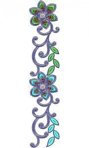 Latest Fashion Cording Lace Embroidery Design