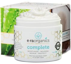 $23.87 – Finally, An All Natural Face Moisturizer That Really Works! Complete is made with powerful ingredients, mostly organic food-grade nutrients, providing extraordinary soothing and moisturizing qualities for your skin.