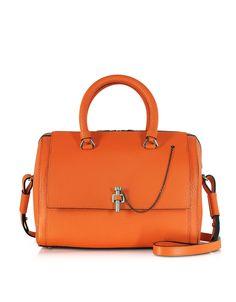 Carven Orange Malher Bowling Bag at FORZIERI
