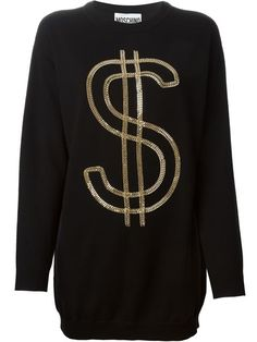 Shop Moschino chain dollar sweater in Cumini from the world's best independent boutiques at farfetch.com. Over 1000 designers from 300 boutiques in one website.