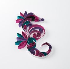 Quilled words and letters   Quilling Art   Quilling Art ...