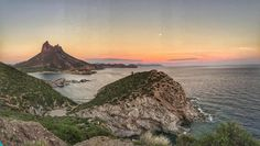 Mirador - San Carlos Sonora MÉXICO #sonora #mexico #vacation #beach #scenery #sunset #water #sky