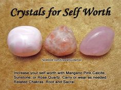 ✯crystals for self worth✯