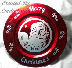 Nothin' Fancy: Santa Face Charger