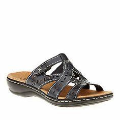 4eff11b5d90 Clarks Bendables Leisa Truffle Slide Sandals    Casual Sandals