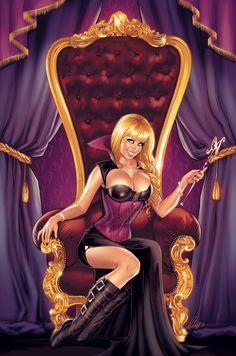 Queen Noelia by Elias-Chatzoudis.deviantart.com on @deviantART