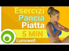 Pancia Piatta in 5 Minuti - YouTube