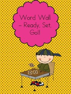 $3.95This is an entire word wall set with Alphabet picture cues and word wall words for kindergarten AND first grade. Not only that, I have included...