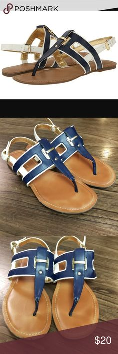 TommyHilfiger Lynnie T-StrapThong Slingback Sandal Pre-owned in great shape. Size 7.5 Tommy Hilfiger Shoes Sandals