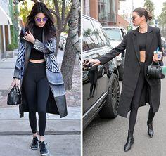 Cada vez mais, na vida corrida de hoje, a mulher precisa de uma roupa prática para todos os momentos da jornada diária. As modelos Gigi Hadid e Kendall Jenner dão aula quando o assunto é roupa prática, confortável e estilosa para o dia a dia.