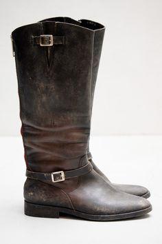 Golden Goose Rosebowl Boot — Black