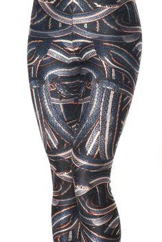 a18f10cf3e703 BLACK MILK Genuine Very rare SNAKE PIT LEGGINGS Museum M 10 12 Gothic Medusa