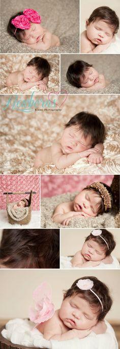 Newborn girl, newborn photography
