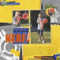 Nerf - My Scrapbook Art Gallery