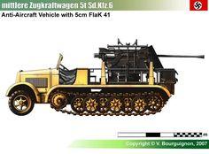 Sd.Kfz.6 mit 5cm Flak 41