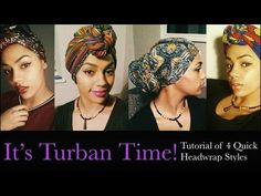 Seriously Natural: 45 Head Wrap Styles For The Long, Short & Loc'd
