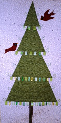 Buzzing and Bumbling: A Christmas Tree for a Small Space!