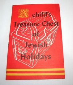 1962 Children #Jewish Holidays Vintage Prayer Booklet Diamond Crystal #Kosher Salt #DiamondCrystalSalt