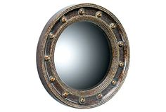 porthole (round) mirror (One Kings Lane sale)