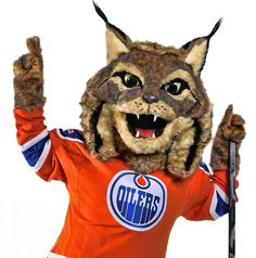 "The Edmonton Oilers revealed the newest member of the Oilers family, introducing their official mascot, ""Hunter"" the Canadian Lynx. The mascot is named Hunter as a tribute to ""Wild Bill"" Hunter, the original owner of the Edmonton Oilers who founded the team in 1972. As such, Hunter will also don No.72 on his Oilers jersey."