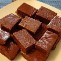 Microwave Chocolate Fudge: Make delicious #chocolate fudge in a matter of minutes in a #microwave.