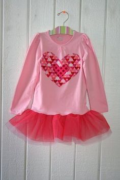 Made a Minnie Mouse outfit using this concept. Super cute. Super easy. Don't know why I haven't made any more!