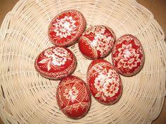 velikonoční kraslice škrábané
