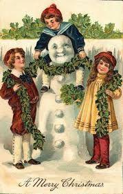 Resultado de imagem para christmas postcards