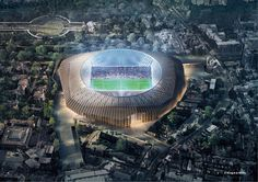 Herzog & de Meuron submits plans for Chelsea football stadium redesign