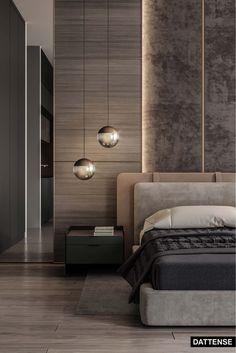 Modern Luxury Bedroom, Modern Master Bedroom, Contemporary Bedroom, Luxurious Bedrooms, Luxury Interior, Home Interior Design, Modern Bedroom Design, Master Bedroom Design, Suites