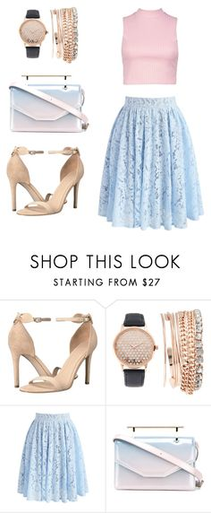 """""""Feshion #5"""" by thamiris-7 on Polyvore featuring moda, GUESS, Jessica Carlyle, Chicwish, M2Malletier e Boohoo"""