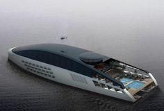 SVETI mega yacht concept