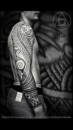 There has been some love for 'Nordic' culture on the FP. Allow me to present the work of Peter 'Blackhand' Madsen of 'Meatshop Tattoo' (Denmark). Viking & Nordic style specialist. - Album on Imgur