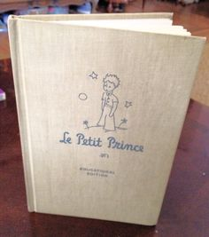 "Vintage 1946 ""Le Petit Prince"" Educational Edition Hardcover Book on Etsy, $20.00"