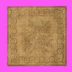 1909 Daisies Filet Crochet $2.99